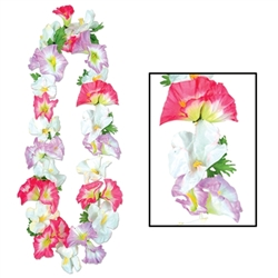 Silk 'N Petals Morning Glory Lei