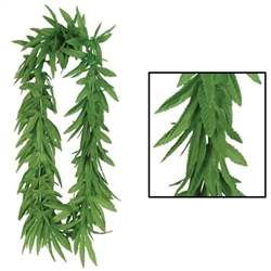 Tropical Fern Leaf Lei | Party Supplies