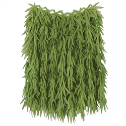 Tropical Fern Leaf Hula Skirt | Party Supplies