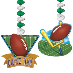 "30"" Game Day Football Danglers"