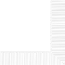 White Premium Beverage Napkins - 24ct. | Party Supplies