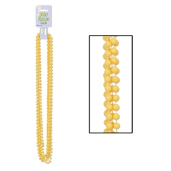 Yellow Baby Shower Beads