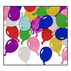 Multi-Color Fanci-Fetti Balloons