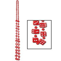 Red Dice Beads