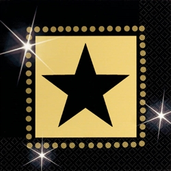 Star Attraction Beverage Napkins | Party Supplies