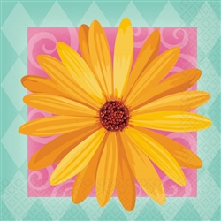 In Bloom Beverage Napkins | Party Supplies