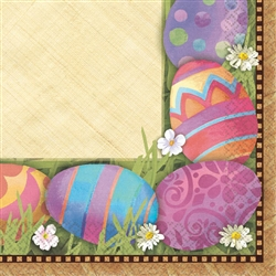 Easter Elegance Beverage Napkins | Party Supplies