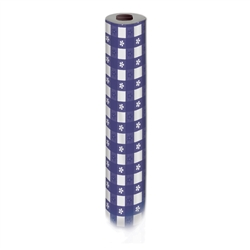 Masterpiece Plastic Gingham Table Roll
