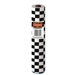 Masterpiece Plastic Checkered Table Roll