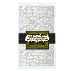 Masterpiece Plastic Lace Rectangular Tablecover