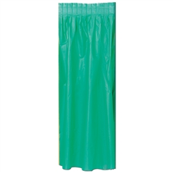 Green Masterpiece Plastic Table Skirting
