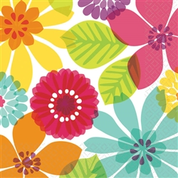 Day in Paradise Beverage Napkins | Luau Party Supplies