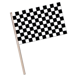 Plastic Checkered Flag