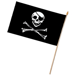 Rayon Pirate Flag