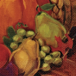 Harvest Still Life Beverage Napkins | Party Supplies