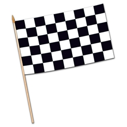 Rayon Checkered Flags