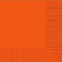 Orange Peel Luncheon Napkins 20 ct | Party Supplies