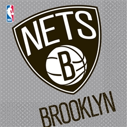 Brooklyn Nets Luncheon Napkins | Party Supplies