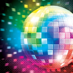 Disco Fever Luncheon Napkins | Party Supplies