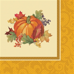 Bountiful Holiday Luncheon Napkins | Party Supplies