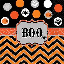 Modern Halloween Luncheon Napkins | Party Supplies