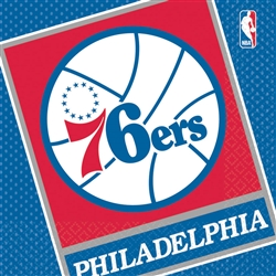 Philadelphia 76ers Luncheon Napkins | Party Supplies