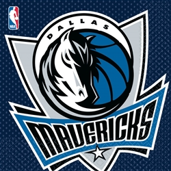 Dallas Mavericks Luncheon Napkins | Party Supplies