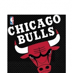 Chicago Bulls Luncheon Napkins | Party Supplies