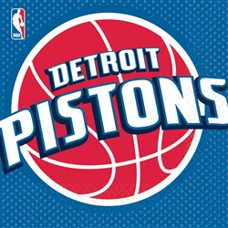 Detroit Pistons Luncheon Napkins | Party Supplies