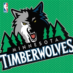 Minnesota Timberwolves Luncheon Napkins | Party Supplies
