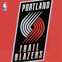 Portland Trail Blazers Luncheon Napkins | Party Supplies