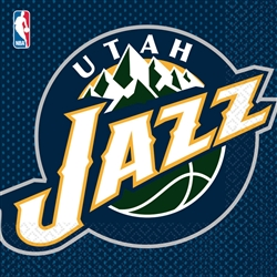 Utah Jazz Luncheon Napkins | Party Supplies