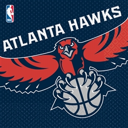 Atlanta Hawks Luncheon Napkins | Party Supplies