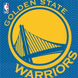 Golden State Warriors Luncheon Napkins | Party Supplies