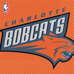 Charlotte Bobcats Luncheon Napkins | Party Supplies