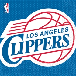 LA Clippers Luncheon Napkins | Party Supplies