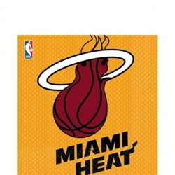 Miami Heat Luncheon Napkins | Party Supplies