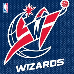 Washington Wizards Luncheon Napkins | Party Supplies