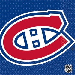 Montreal Canadiens Luncheon Napkins | Party Supplies