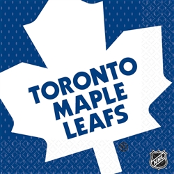 Toronto Maple Leafs Luncheon Napkins | Party Supplies
