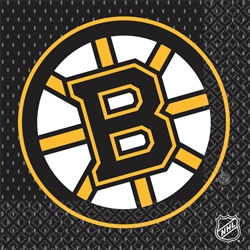Boston Bruins Luncheon Napkins | Party Supplies