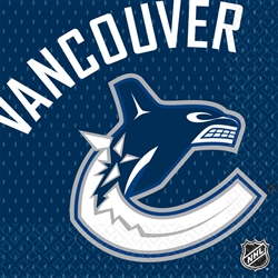 Vancouver Canucks Luncheon Napkins | Party Supplies