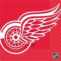 Detroit Red Wings Luncheon Napkins | Party Supplies