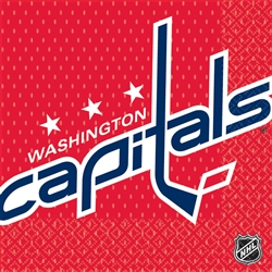 Washington Capitals Luncheon Napkins | Party Supplies