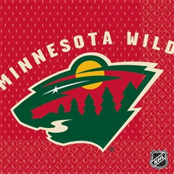 Minnesota Wild Luncheon Napkins | Party Supplies