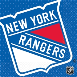 New York Rangers Luncheon Napkins | Party Supplies