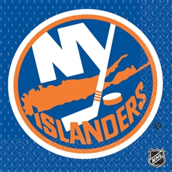New York Islanders Luncheon Napkins | Party Supplies