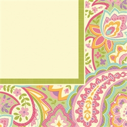 Pretty Paisley Luncheon Napkins | Party Supplies