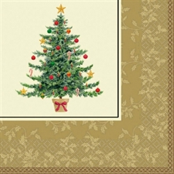 Classic Victorian Tree Luncheon Napkins | Party Supplies