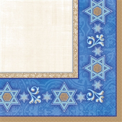 Judaic Traditions Luncheon Napkins | Party Supplies